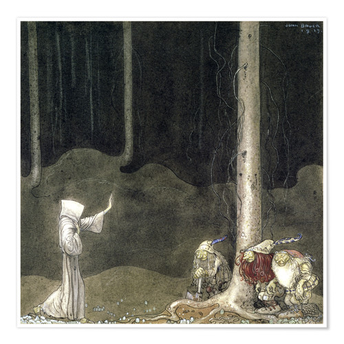 Póster Brother St. Martin and the Three Trolls