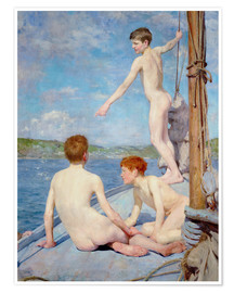 Póster The Bathers