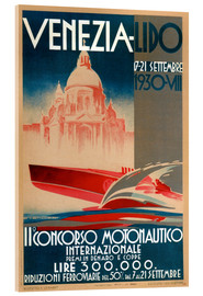 Cuadro de metacrilato  Venezia Lido 1930 - Travel Collection
