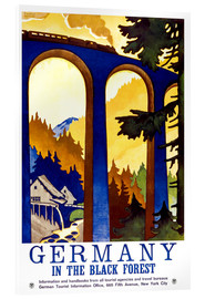 Cuadro de metacrilato  Germany, in the black forest - Travel Collection