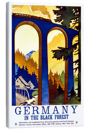Lienzo  Germany, in the black forest - Travel Collection