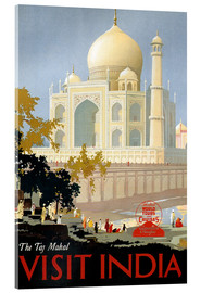 Cuadro de metacrilato  Taj Mahal, India - Travel Collection