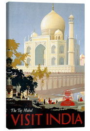 Lienzo  Indien - Taj Mahal - Travel Collection