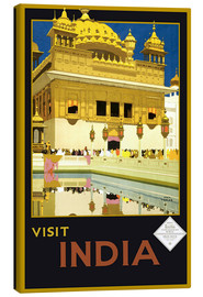 Lienzo  India - Delhi House - Travel Collection