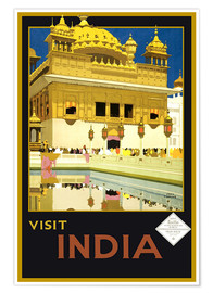 Póster India - Delhi House