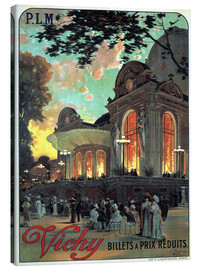 Lienzo  Vichy - Billets a Prix Reduits - Advertising Collection