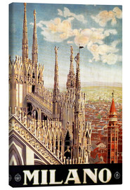 Lienzo  Italy - Milan - Travel Collection