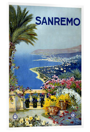 Cuadro de metacrilato  Sanremo, Italia - Travel Collection