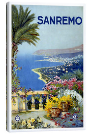Lienzo  Sanremo, Italia - Travel Collection