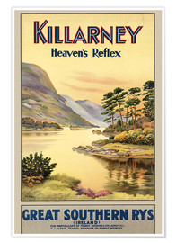 Póster  Ireland - Killarney - Travel Collection