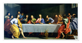 Póster The Last Supper, called 'The Little Last Supper'