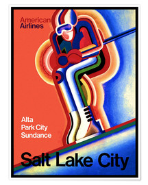 Póster  Ski in Salt Lake City - Travel Collection