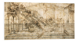 Forex  Perspective Study for the background of the Adoration of the Magi - Leonardo da Vinci