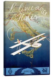 Lienzo  Italian airline (italiano) - Advertising Collection