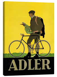 Lienzo  Adler Bicycles - Advertising Collection