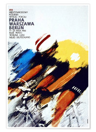 Póster  Carrera ciclista, Praga, Varsovia, Berlín - Advertising Collection