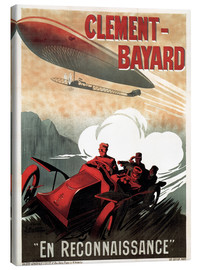 Lienzo  Clement Bayard Automobile - Advertising Collection