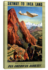Lienzo  Skyway to Inca Land - Travel Collection