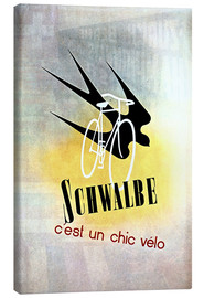 Lienzo  Bicycles - Schwalbe, cest un chic velo - Advertising Collection