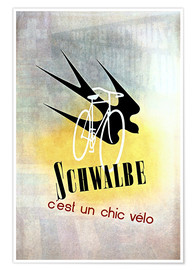 Póster  Bicycles - Schwalbe, cest un chic velo - Advertising Collection