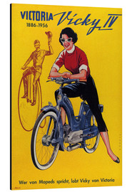 Cuadro de aluminio  Who's talking about mopeds, praises Vicky Victoria - Advertising Collection