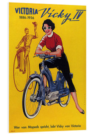 Cuadro de PVC  Who's talking about mopeds, praises Vicky Victoria - Advertising Collection