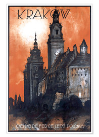 Póster  Krakow - Poland - Travel Collection