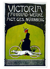 Póster  Victoria Fahrradwerke - Advertising Collection
