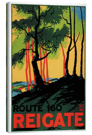 Lienzo  Route 160 - Reigate - Travel Collection