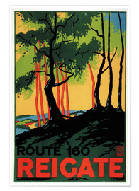 Póster Route 160 - Reigate