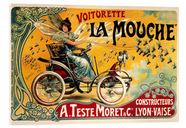 Cuadro de metacrilato  Voiturette La Mouche - Advertising Collection