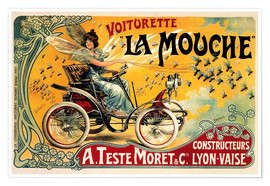 Póster  Voiturette La Mouche - Advertising Collection