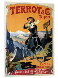 Cuadro de PVC  Terrot & Cie Dijon bicycles and motorcycles - Advertising Collection