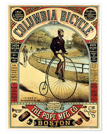 Póster  Columbia Bicycles