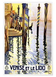 Póster  Italy - Venice - Travel Collection