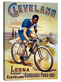 Lienzo  Cleveland Bicycles