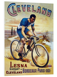 Cuadro de PVC  Cleveland Bicycles - Advertising Collection