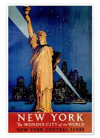 Póster  New York - Travel Collection