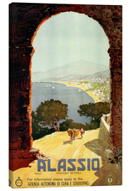 Lienzo  Italy - Alassio - Travel Collection
