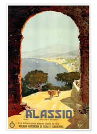 Póster Italy - Alassio