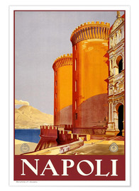 Póster Italy - Naples