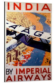 Cuadro de aluminio  India tour with Imperial Airways