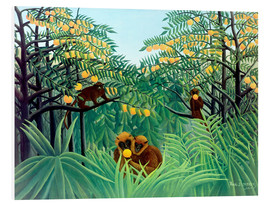 Forex  Monkey in the jungle - Henri Rousseau