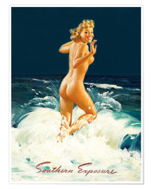 Póster  Pin Up - Southern Exposure - Al Buell