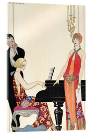 Metacrilato  Incantation, illustration for 'Gazette du Bon Ton', 1922 - Georges Barbier
