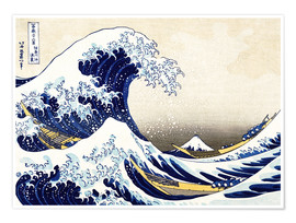 Póster The Great Wave of Kanagawa