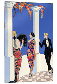 Metacrilato  The Taste of Shawls, 1922 - Georges Barbier