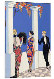 Forex  The Taste of Shawls, 1922 - Georges Barbier