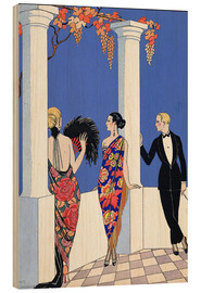 Madera  The Taste of Shawls, 1922 - Georges Barbier