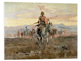 Charles Marion Russell - Stolen Horses, 1911